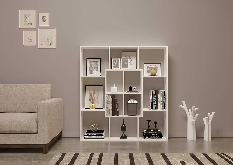 Mars bookcase bookshelf shelving unit room divider for living