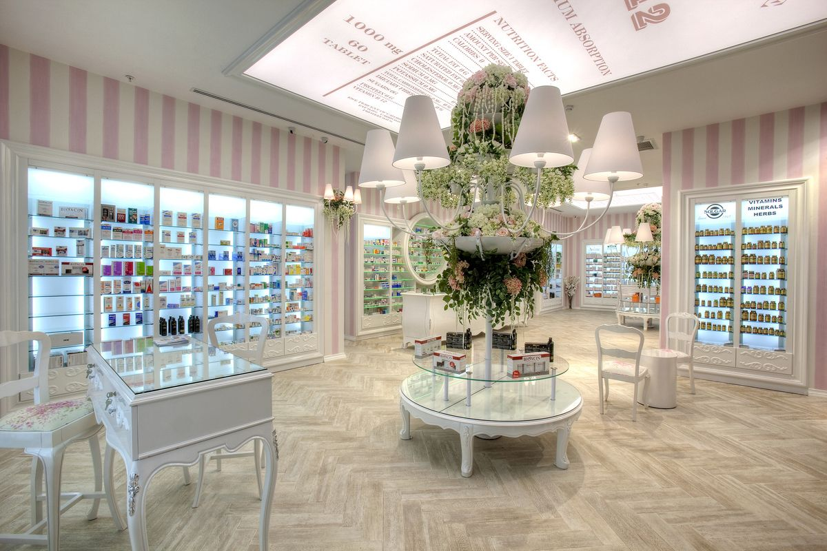 Interior Design: Is a Pharmacy, Is a Perfumery. and Is in Istanbul