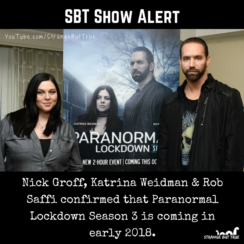 paranormal lockdown season 3 streaming
