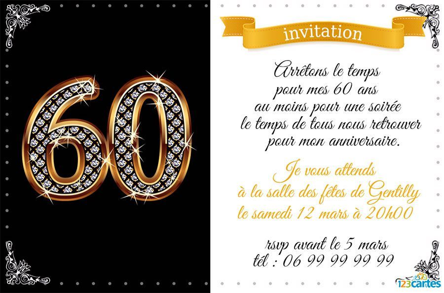 carte invitation anniversaire 40 ans gratuite imprimer anniversaire pinterest carte. Black Bedroom Furniture Sets. Home Design Ideas