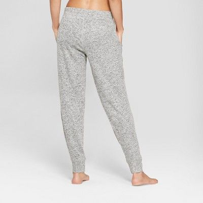 c0d1a028b919ce Women's Cozy Lounge Jogger Pajama Pants - Xhilaration Charcoal (Grey ...
