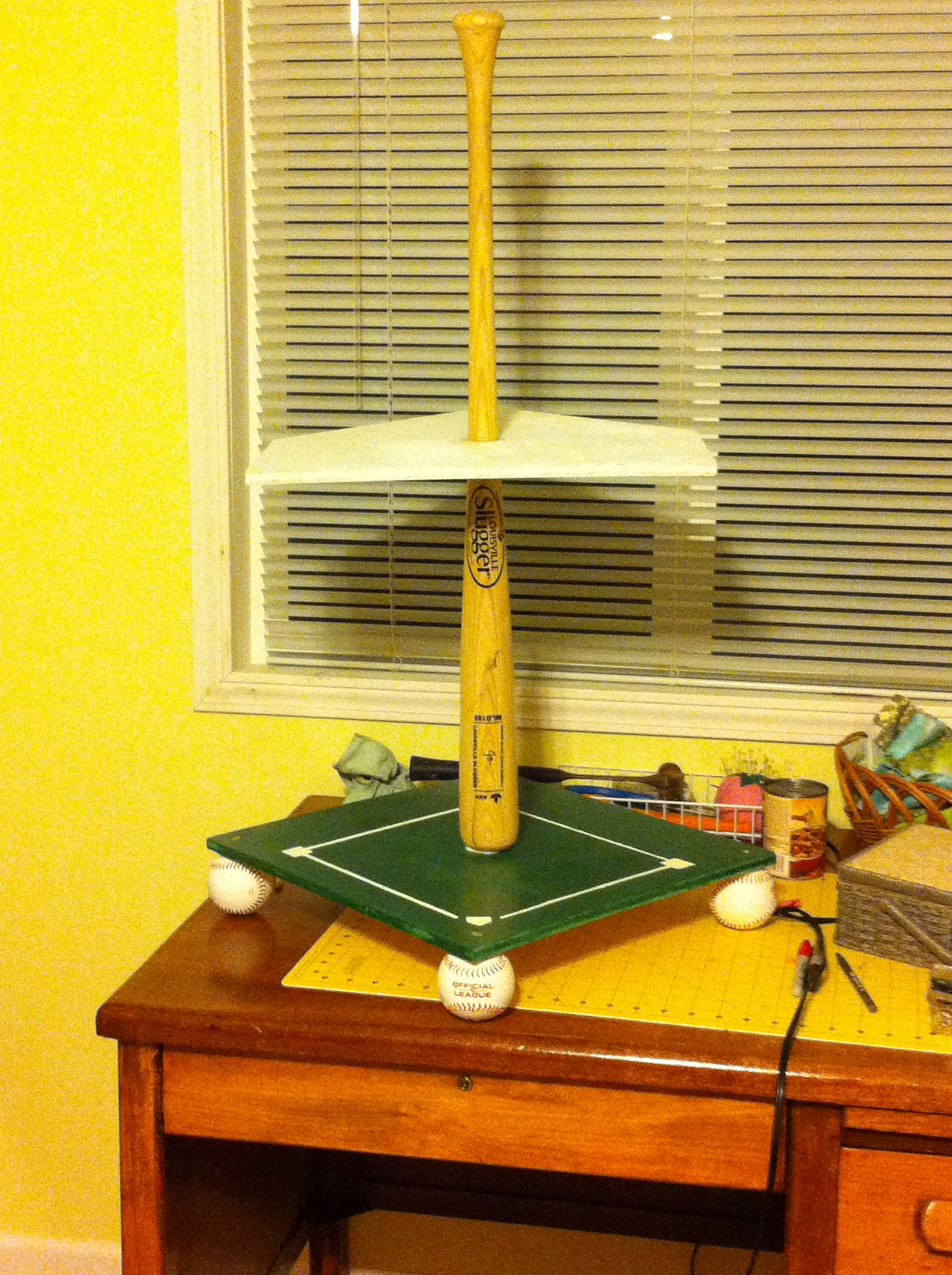 Baseball Themed Cupcake Stand I Made 17 Quot X17 Quot Square As