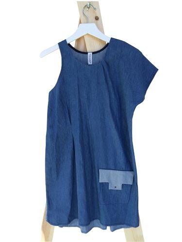DENIM DRESS, $228.00