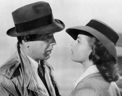 89ceb300 The Classic Fedora Hat Worn by Humphrey Bogart in Casablanca | Hats ...