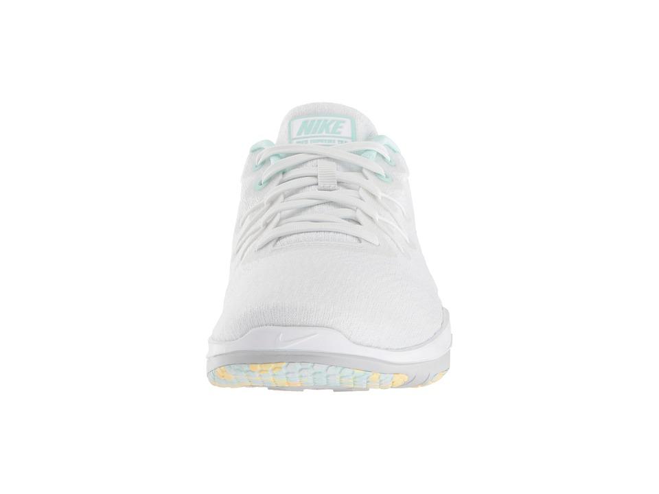 e47348fe638c3 Nike Flex Supreme TR 6 Women s Cross Training Shoes Summit White Wolf  Grey White