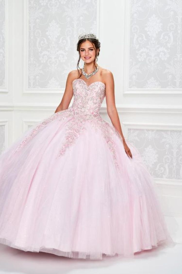 7620af1bd ... Princesa by Ariana Vara style is Sparkle Tulle, Embroidered Lace &  Beading. This style comes with a matching Jacket Quinceanera Collection  Dress PR11944 ...