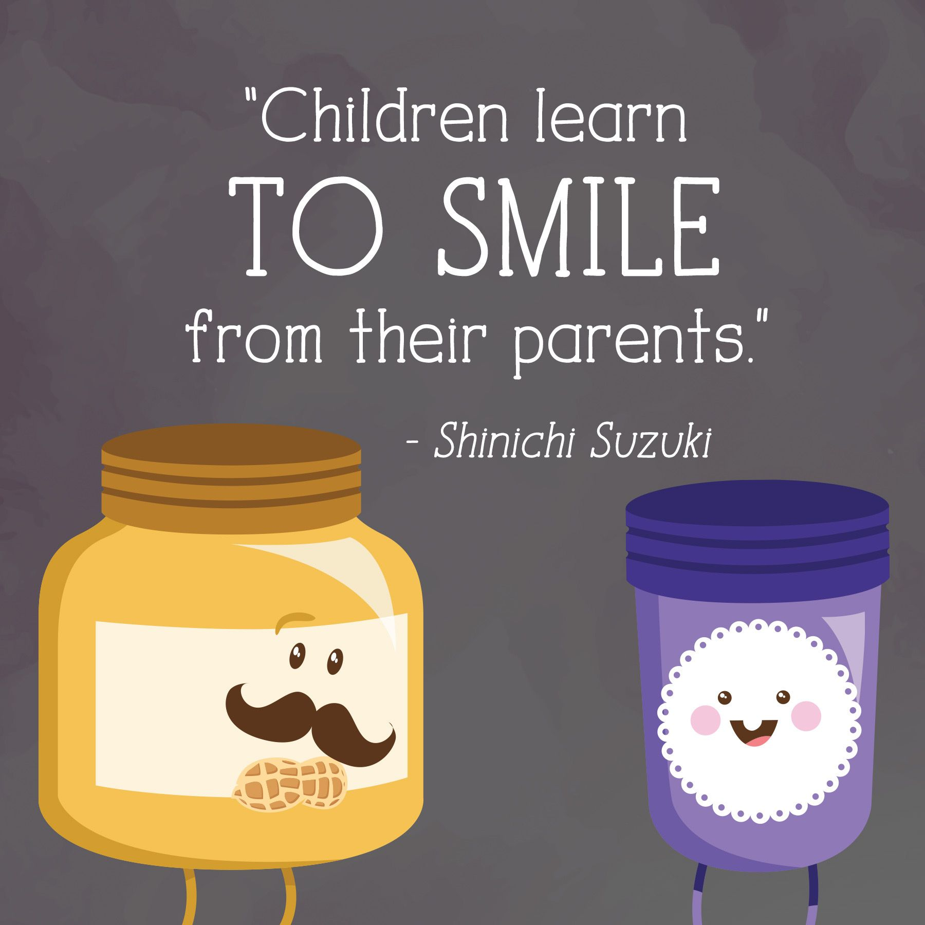 great quote from shinichi about teaching your kids to enjoy life