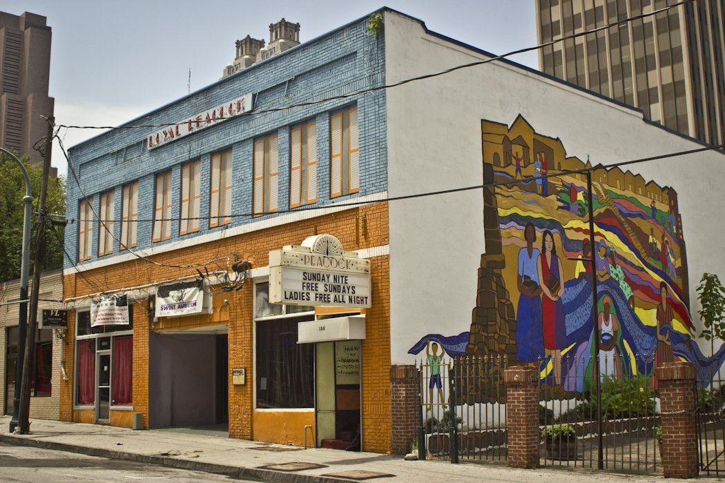 The Royal Peacock music venue on Auburn Avenue atlanta