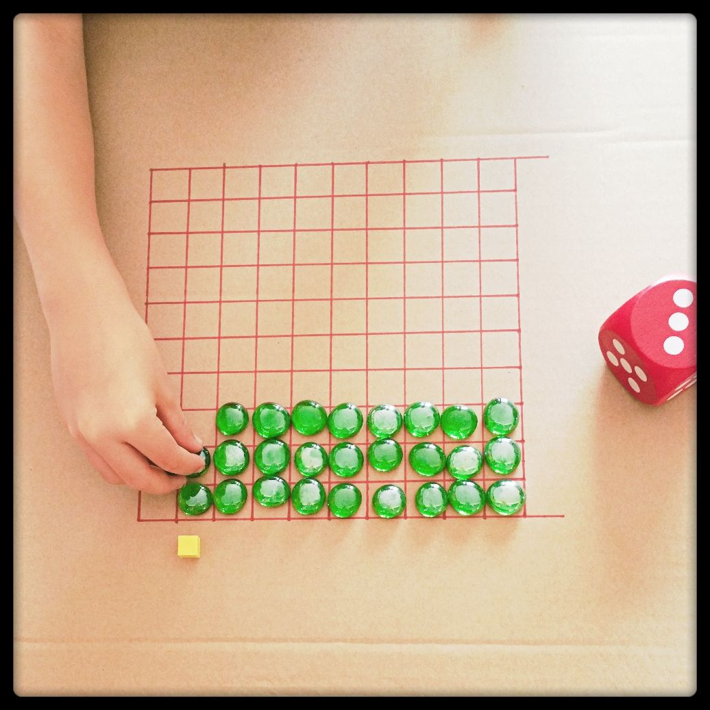 Homemade Math Game This Version Is For Multiplication