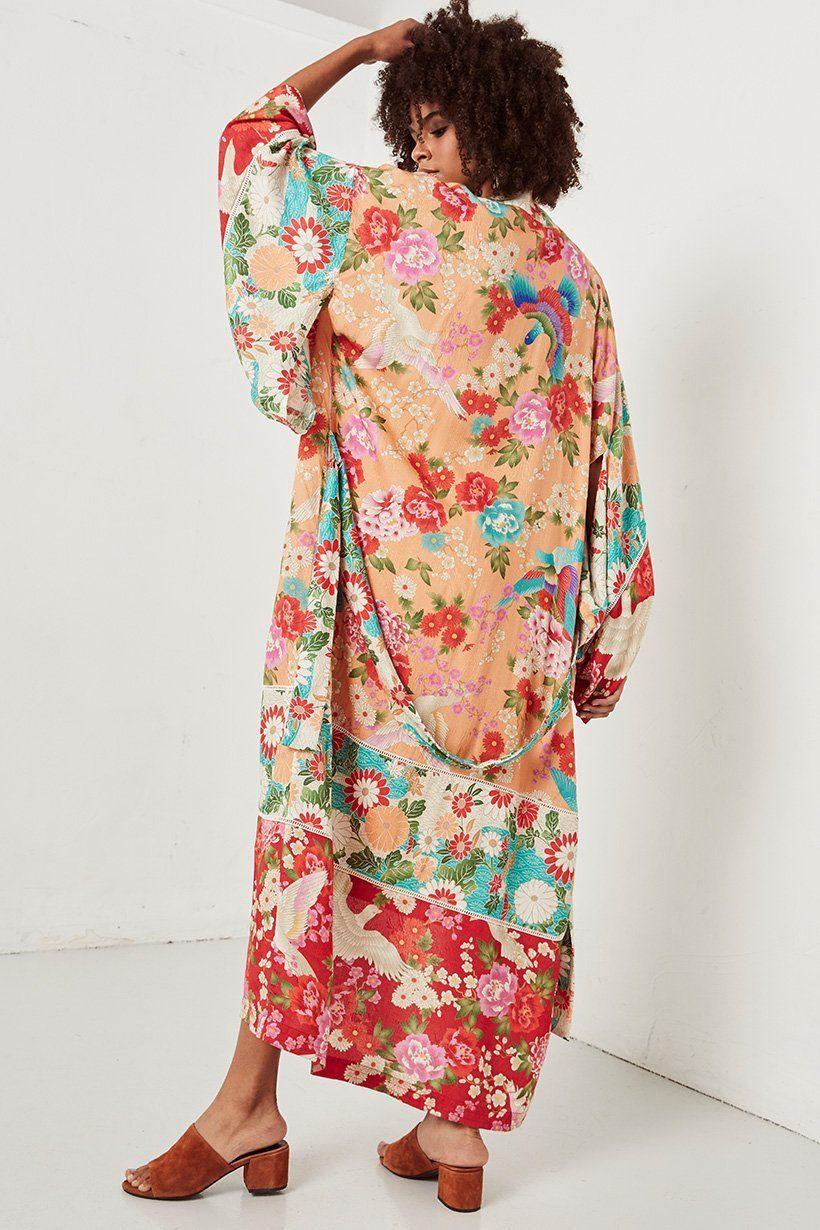 5df81e2e8085 Spell   the Gypsy Collective Delilah Patchwork Maxi Kimono - Belle   the  Brave