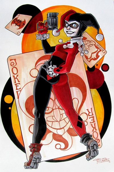 17 best images about harlequin ♦ on pinterest | gotham city