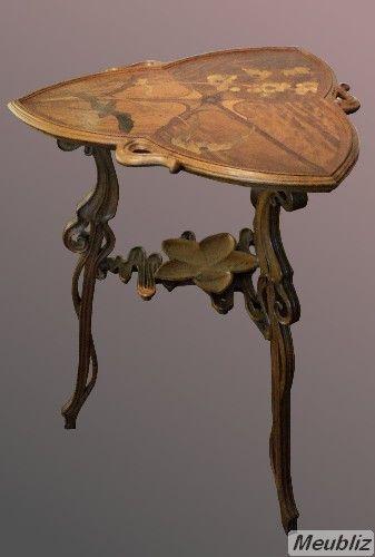 Art Nouveau Definition Le Style Du Mobilier Art Nouveau Francais Art Nouveau Mobilier De Salon Art Deco