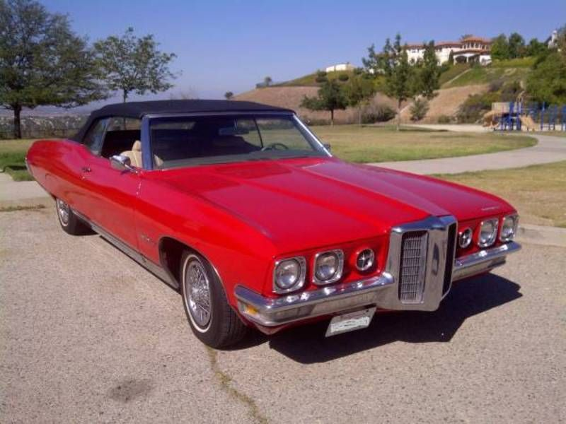 1970 Pontiac Bonneville For Sale In West Hills California Old