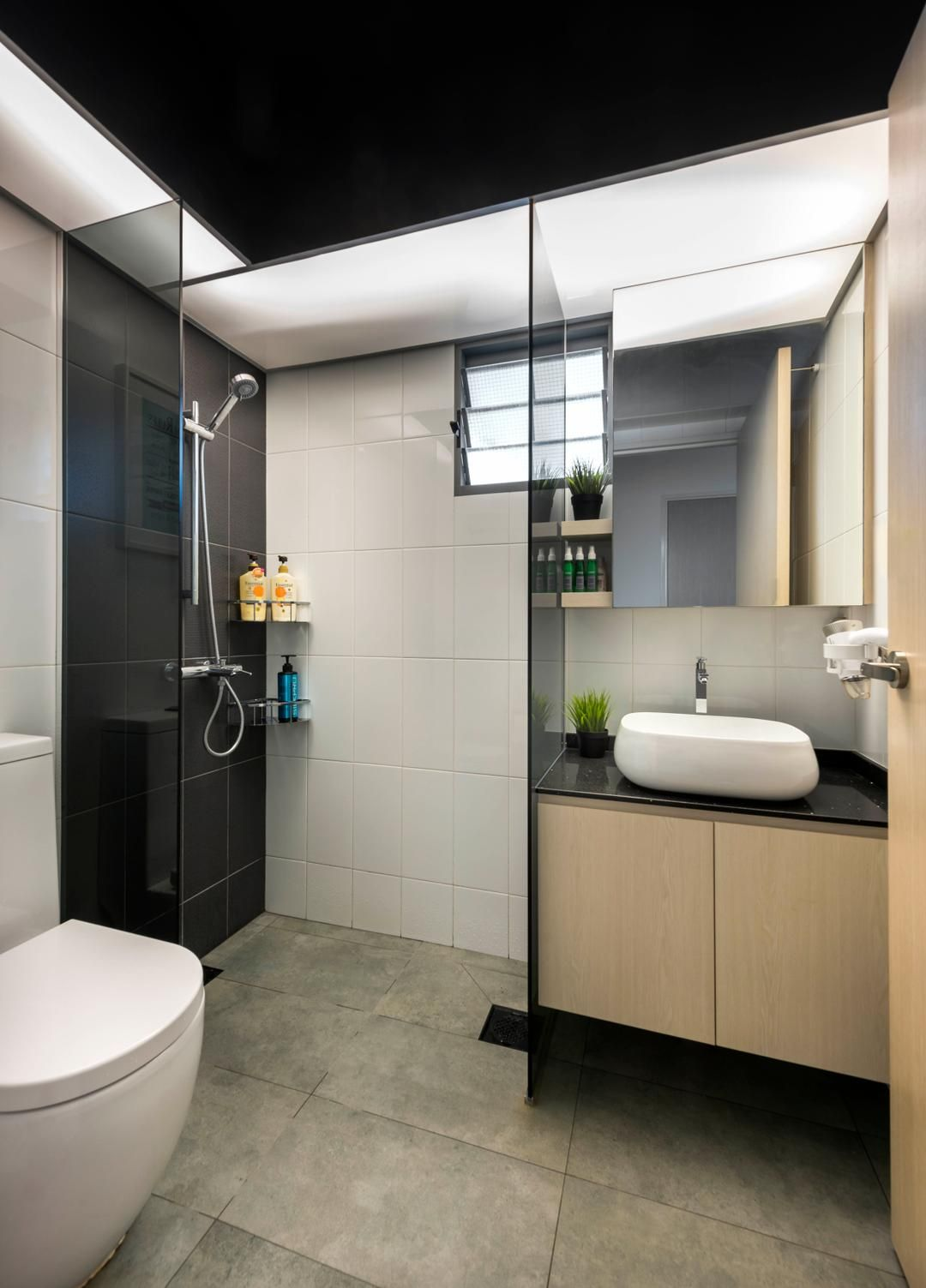 Check Out This Minimalistic Style Hdb Bathroom And Other Similar Styles On Qanvast Minimalist Bathroom Minimalist Toilets Bathroom Design