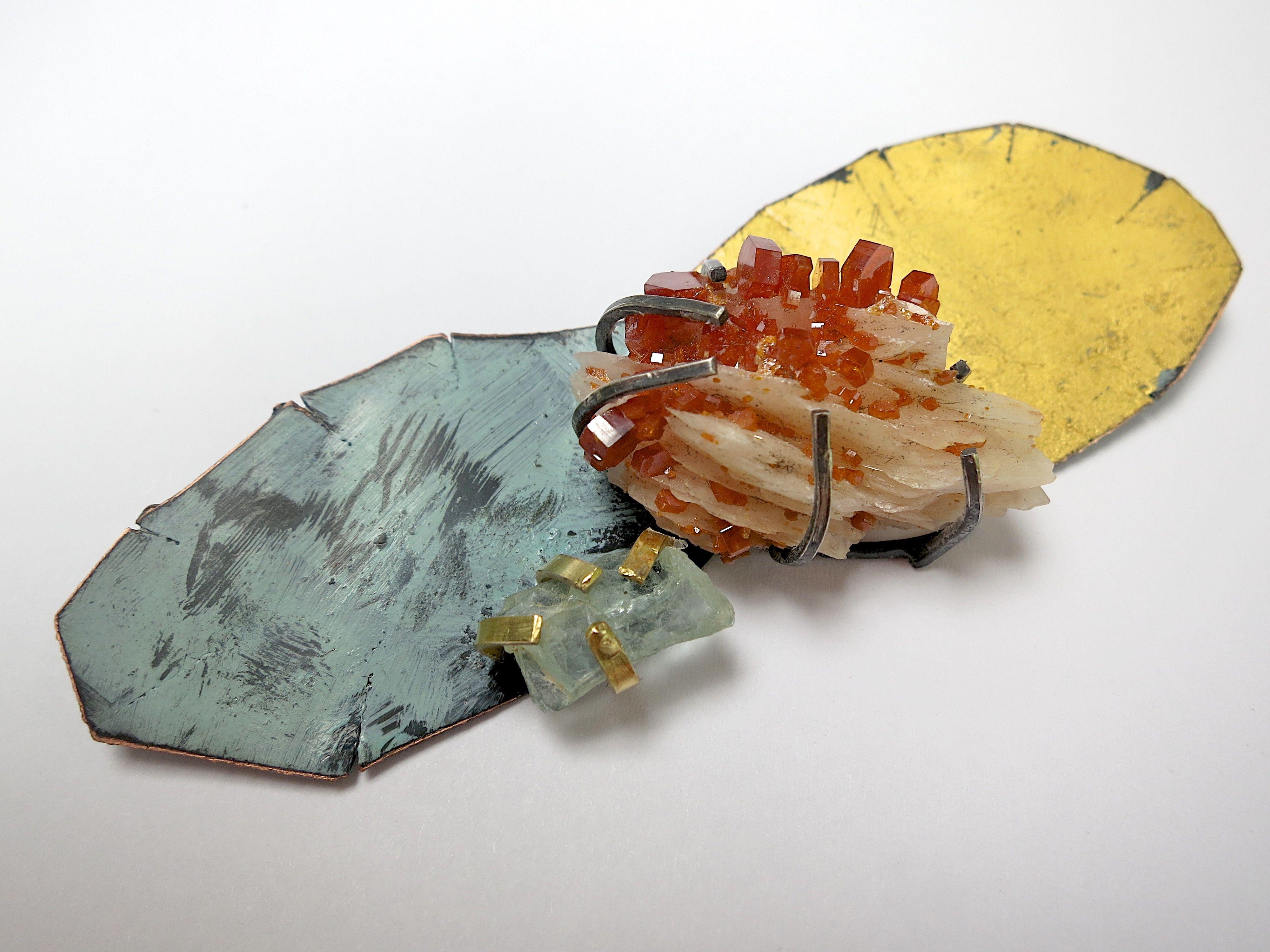 Portfolio Painted Copper Gem Mineral | Brooke Marks