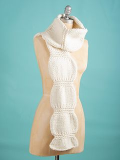 Have fun with this fast and squishy scarf! Huge needles and fat yarn make for a quick and beautiful scarf in no time at all.