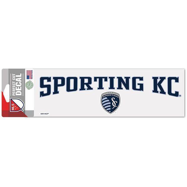 Sporting Kansas City WinCraft X Perfect Cut Decal - Sporting kc wall decals