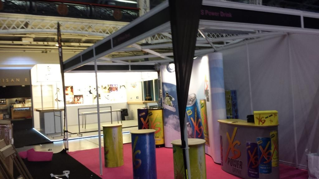 Ready for day 3 at #MOVEIT2015 olympia Londonwith #xspowerdrink more info goto http://www.dougalou.co.uk please #rt