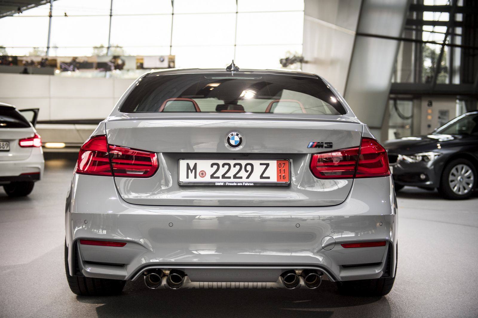 Nardo grey bmw m3 competition package is audi s worst nightmare