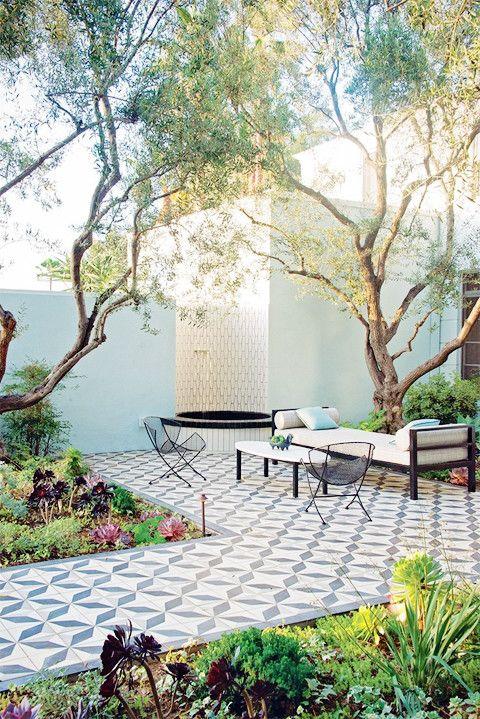 Outdoor Oasis Lark Linen Patio Tiles Outdoor Design