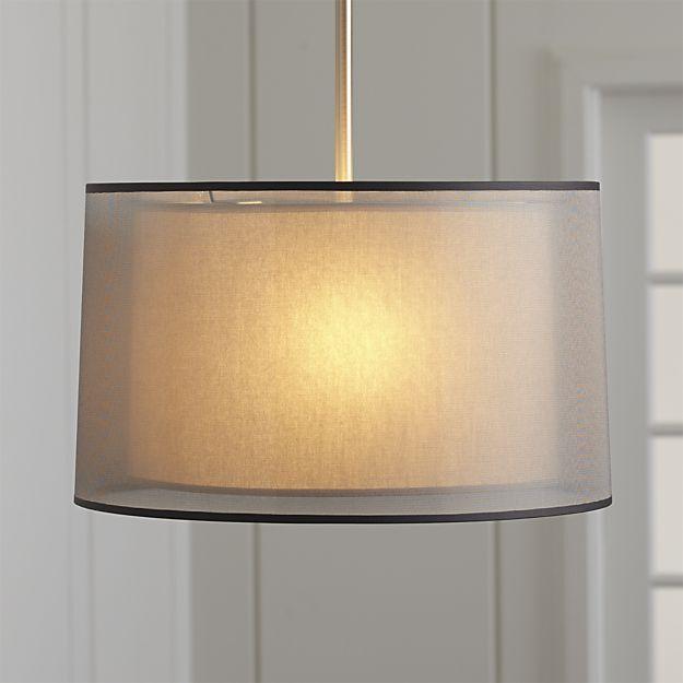 silver pendant lighting pendant light