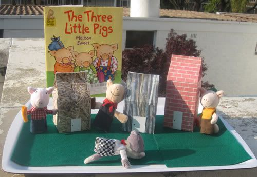 Printable Three Little Pigs Play Set - Fun with Mama