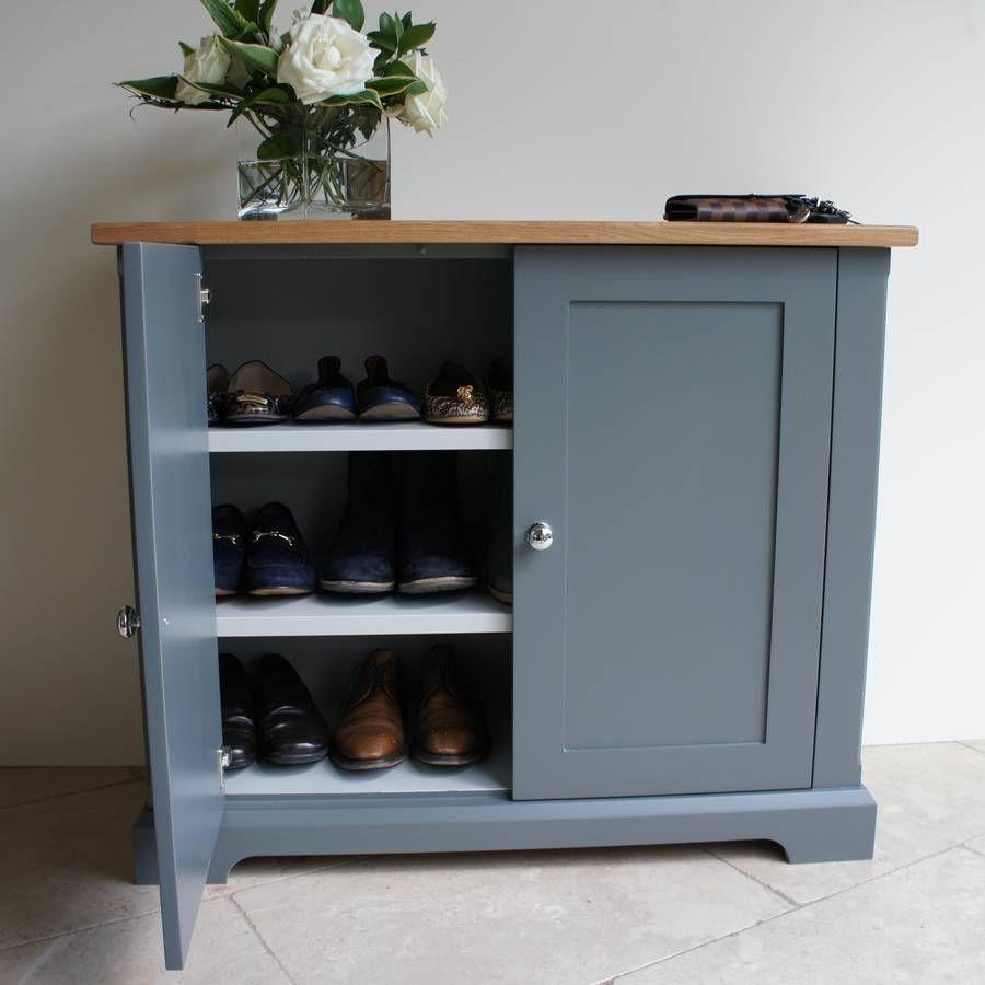 Ashford Slimline Shoe Cupboard In A Choice Of Colours In