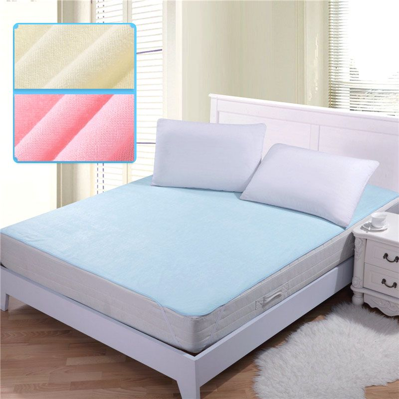 150 200cm 100 Cotton Changing Mat Breathable Baby Waterproof Bed Sheets Mattress Baby Diaper Pad Mattress Breathable Crib Mattress Baby Crib Mattress Mattress