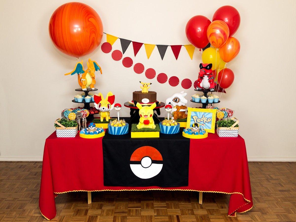 Festa Pokemon Aluguel De Decoracao Tristan S Birthday Festa
