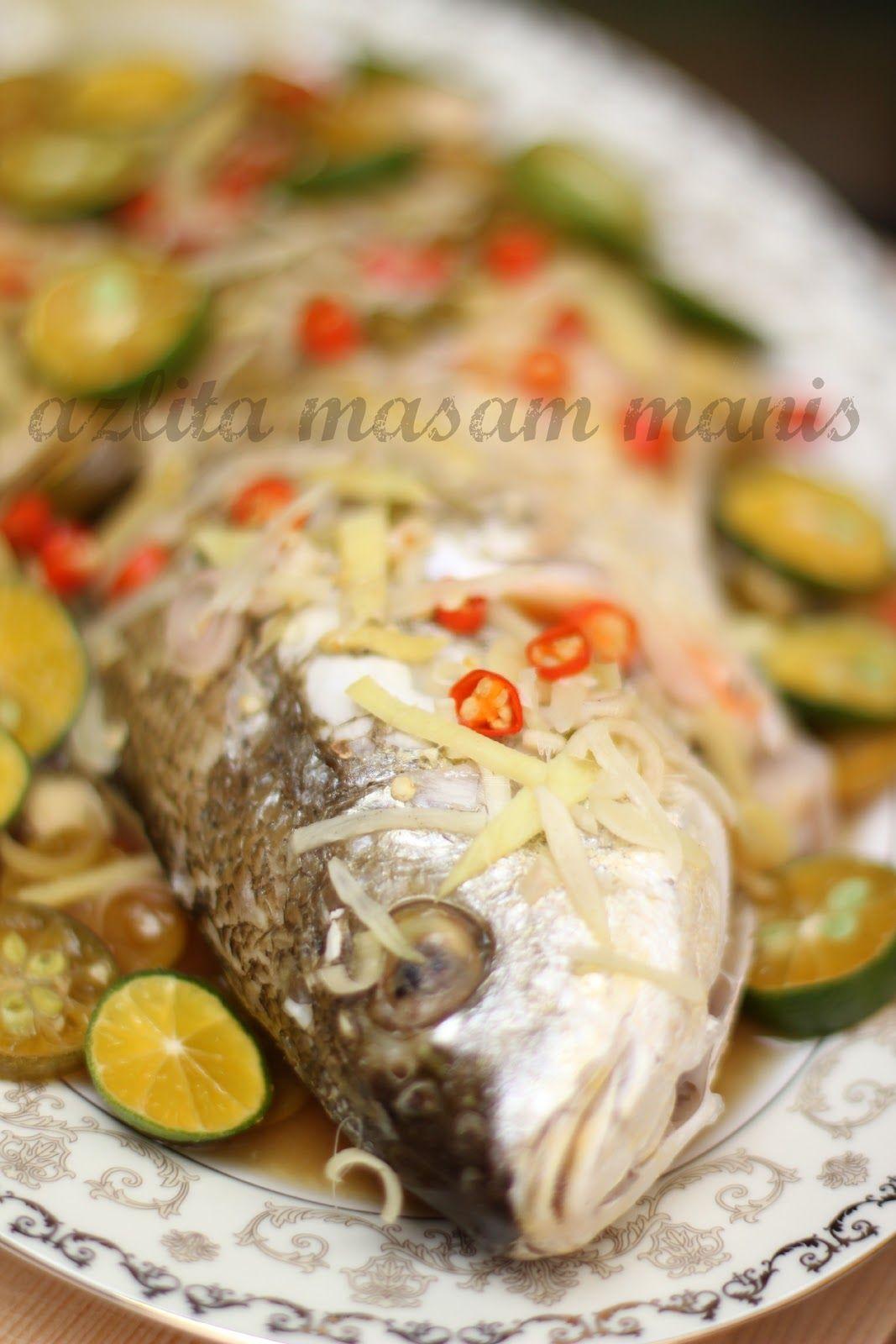 Masak Tengah Hari Ni Simple Aje Ita Kukus Lagi Ikan Kali Ni Ita Gunakan Ikan Tebal Pipi Aduh Tebal Sungguh Pipiku Food Pinoy Food Fish And Seafood