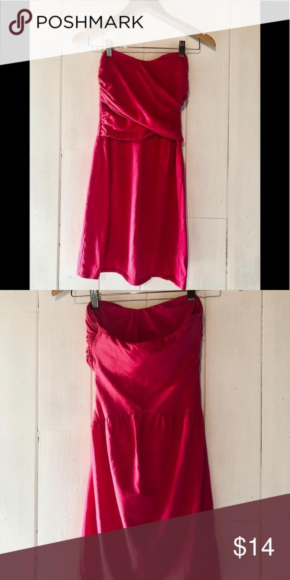 0537c2eb46 Victoria's Secret strapless bra top dress size S Victoria's Secret  strapless bra top dress, size S. Spring break is just around the corner,  this hot pink ...