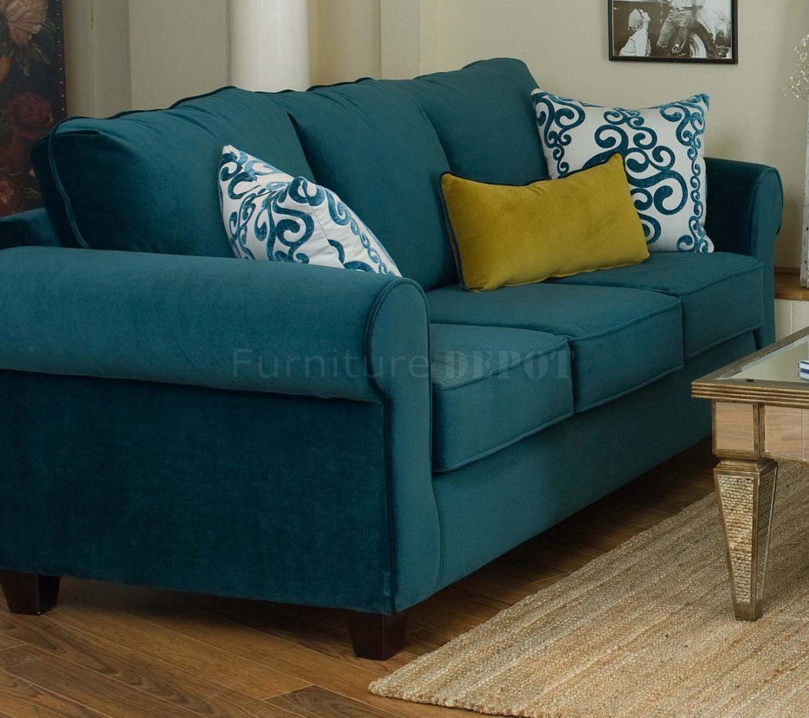 peacock blue leather sofa - recherche google | salon | pinterest