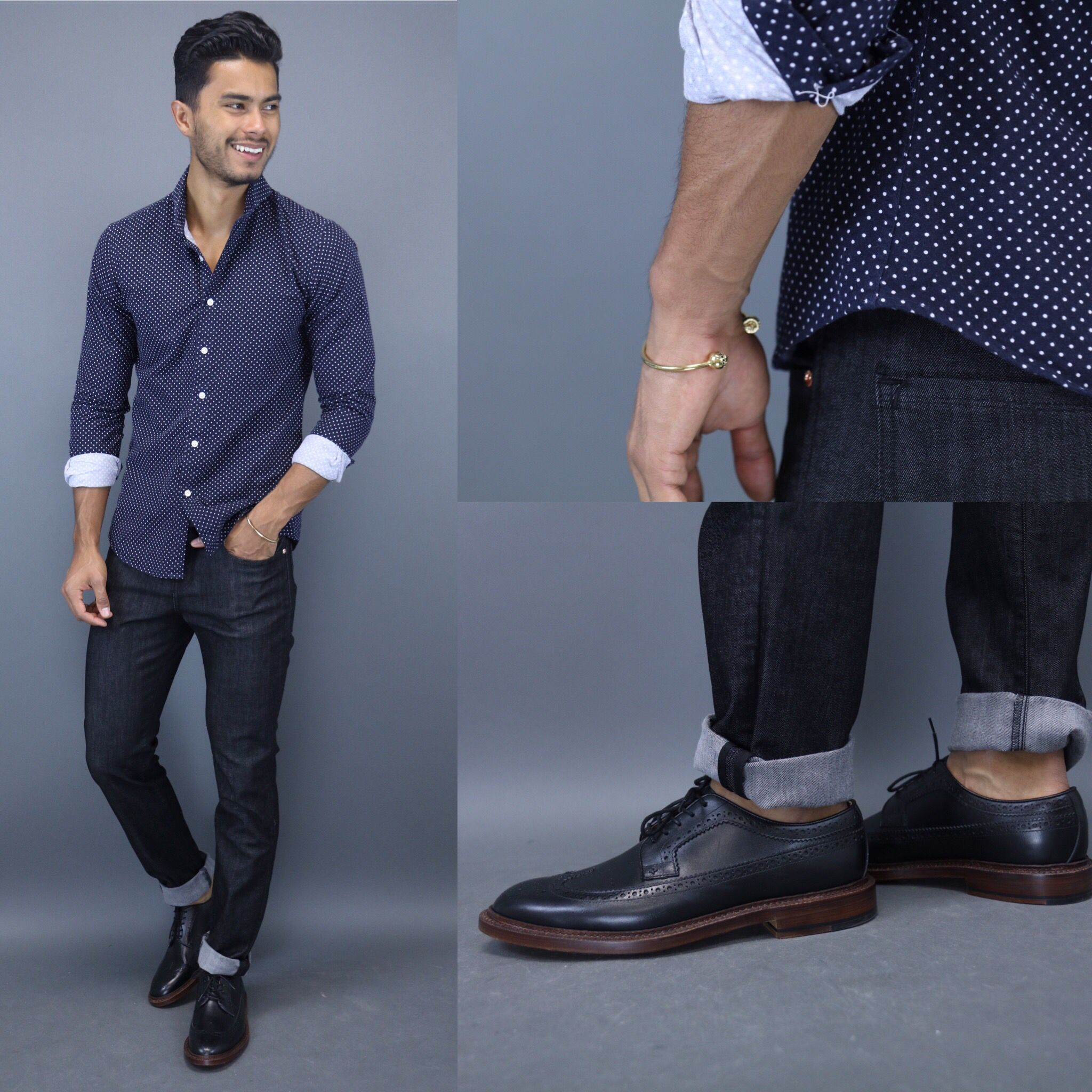 a730e33774 Check out our latest article where we discuss the 4 shades of denim every  guy needs in their wardrobe!