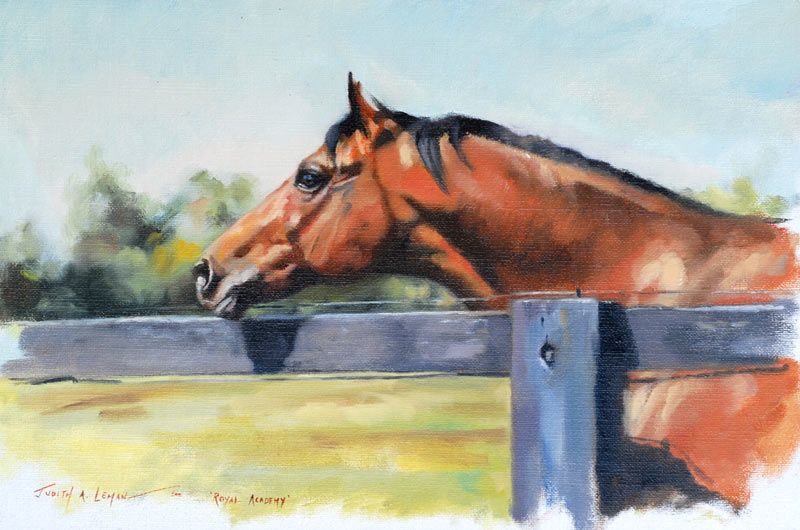 JUDITH A. LEMAN | Horses