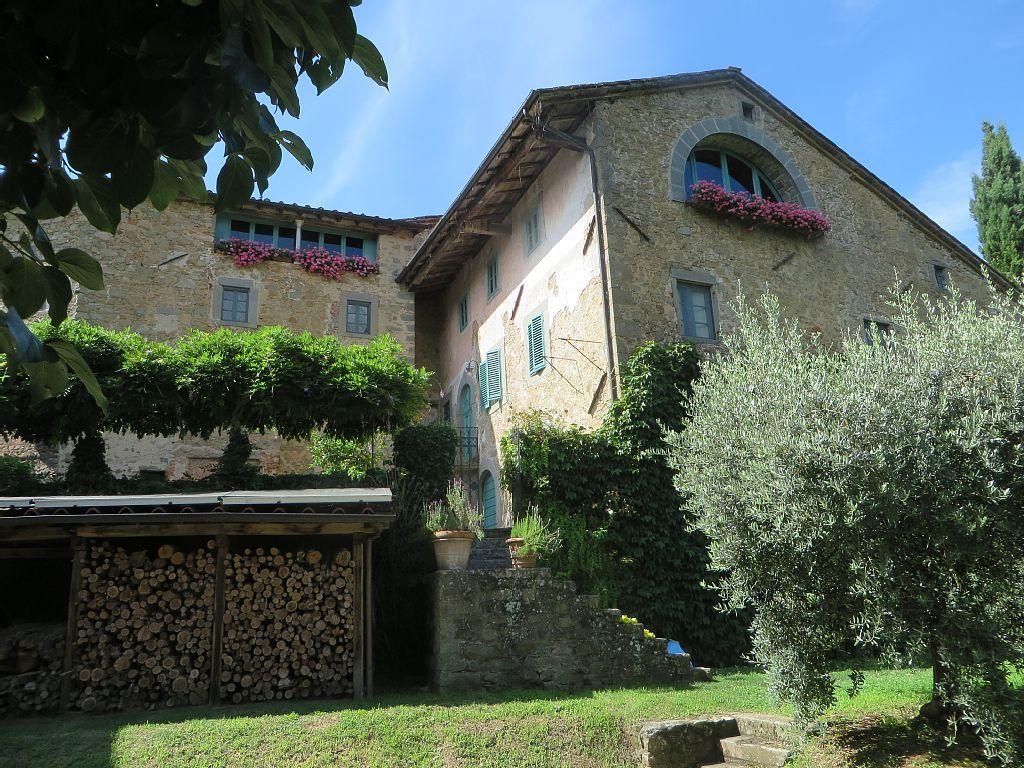 The 'Great Window' Villa Lavanda, Bagni di Lucca, Italy
