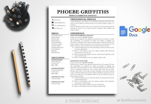 Resume #Template #Google Docs - #bestResumes Resumes templates