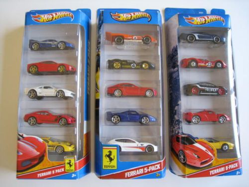 Hot Wheels Ferrari 5 Pack Lot Of 3 Ebay Hot Wheels Hot Wheels Party Hot Wheels Cars