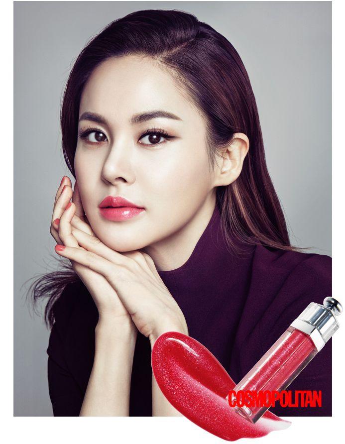 아이비 씨, 입술에서 빛이 나요!   코스모폴리탄 (Cosmopolitan Korea)