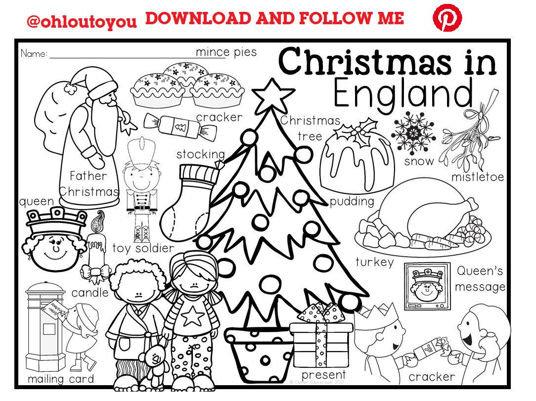 Christmas In England Lot 14 Christmas In England Coloring Pages For Kids Christmas Coloring Pages