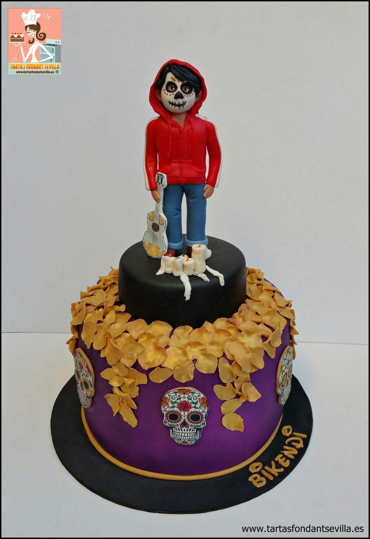 Tarta Coco Miguel Rivera Birthday Cake Pastel Cakes
