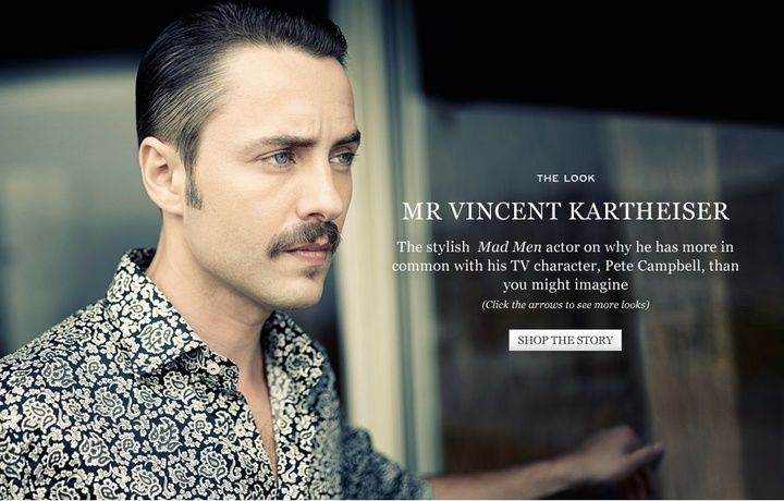the standard stache watch mad men s pete campbell bares his