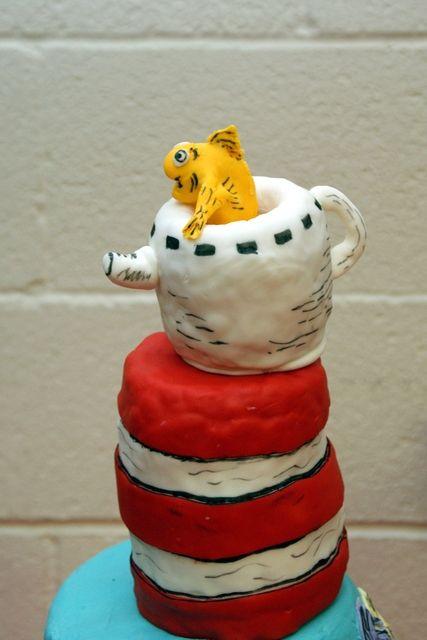 Cool Dr. Seuss cake