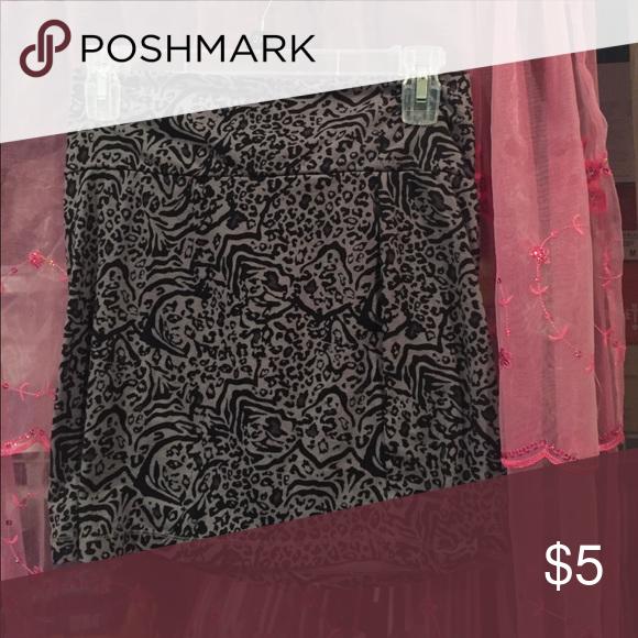 Animal print skirt Mini skirt! Taking offers Skirts Mini