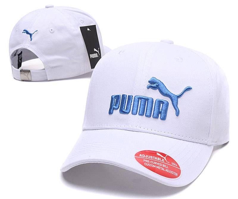 b02ff43d Puma Hats & Adjustable Caps White/Blue 012 | Puma Caps | Cap ...