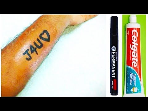 Photo of How To Make Tattoo At Home With Pen And Colgate | DIY Temporary Tattoo | Crafty Ideas