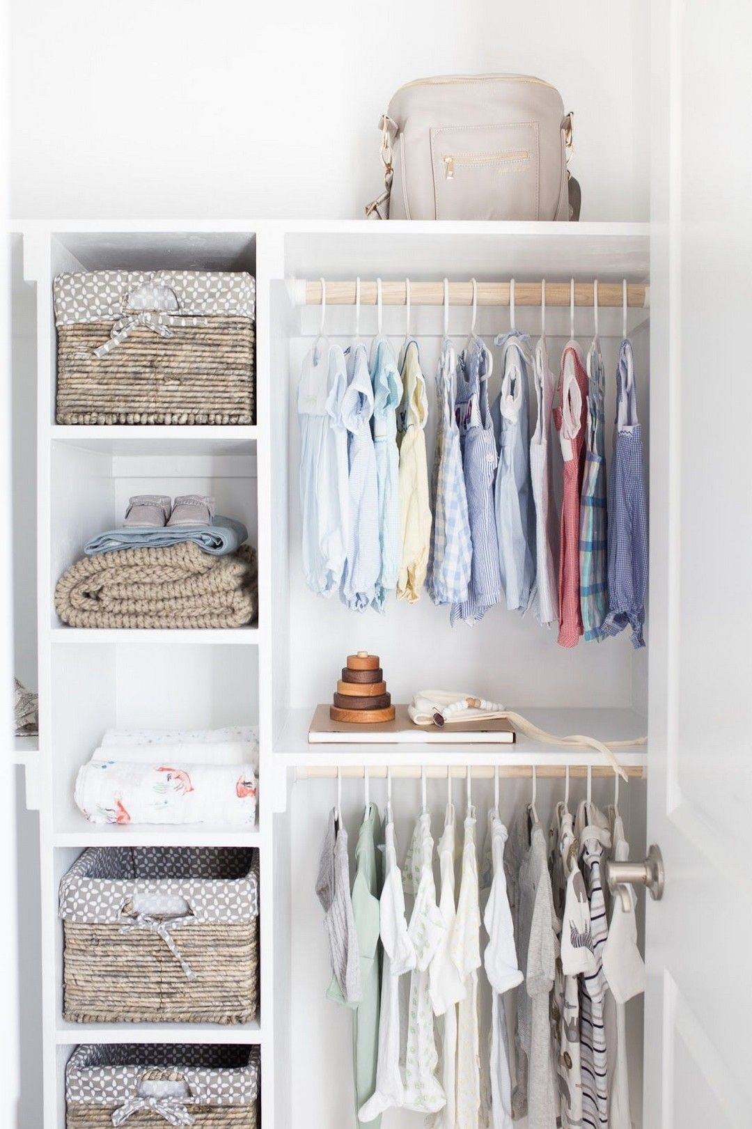 27 Kids and Nursery Closet Organization Ideas http://alladecor.com