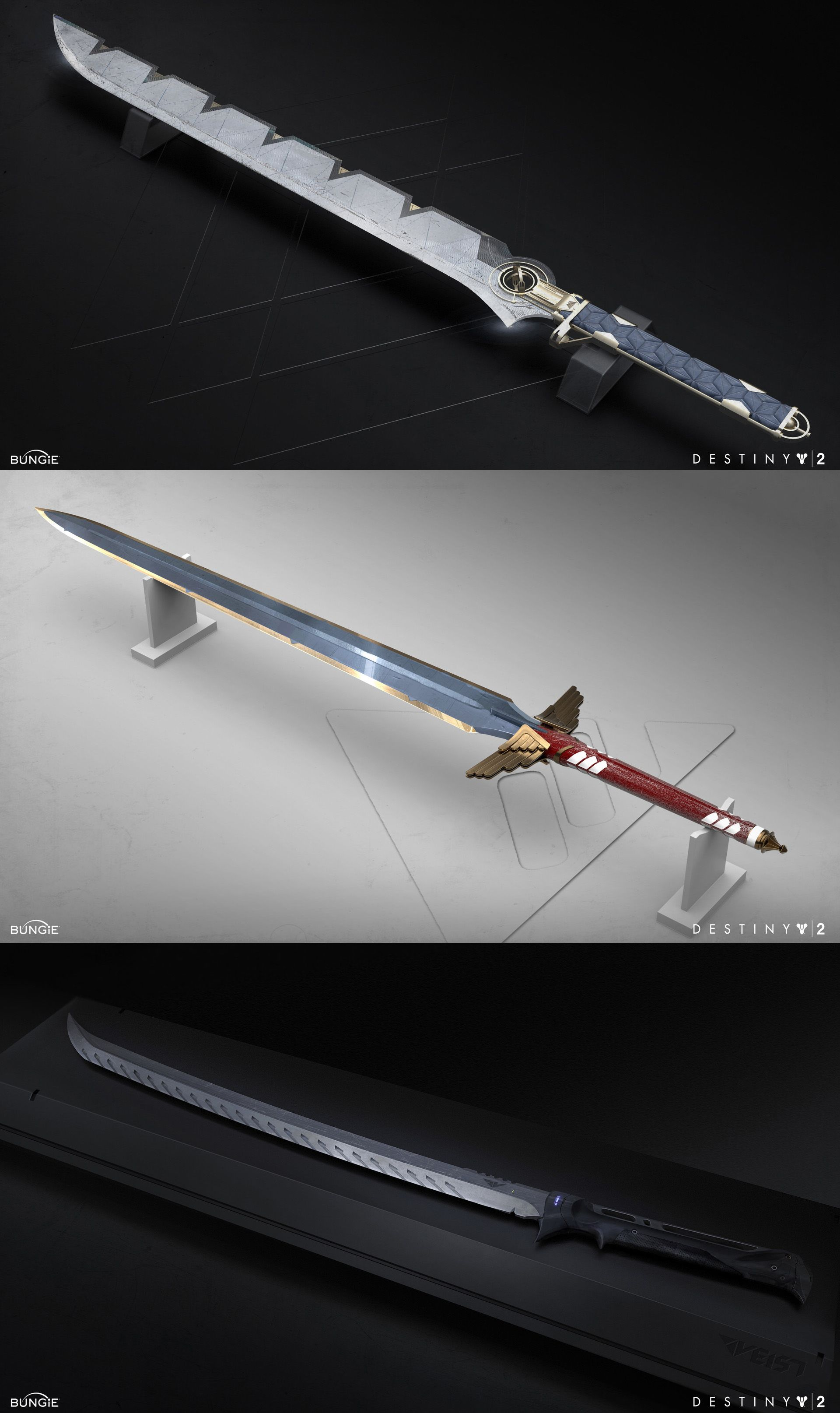 Swords From Destiny 2 By Arian Majkrzak