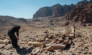 ♥ | © Previous surveys of the site in Petra had missed the structure.