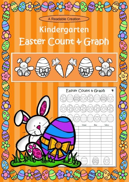 Easter Math - Count and Graph