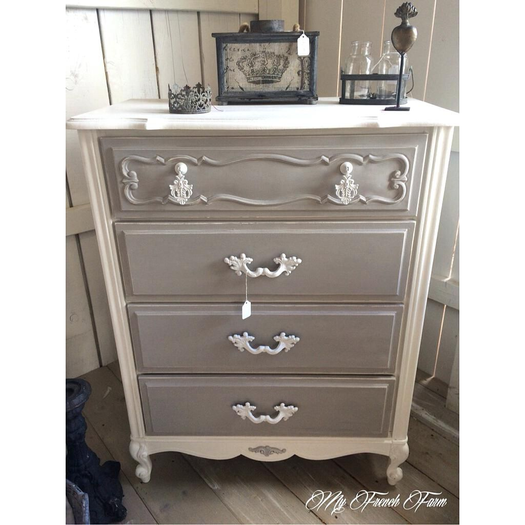 beautiful dresser painted with annie sloan chalk paint in